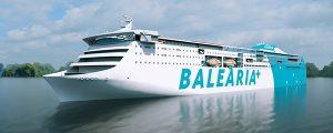 Primer ferry a LNG del Mediterráneo