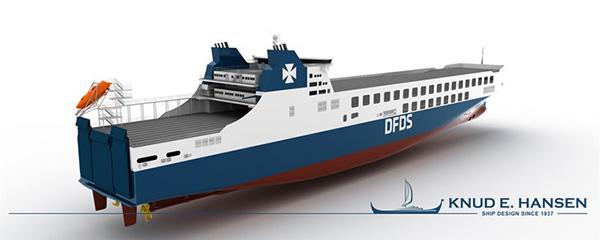 RoRo de Knud E. Hansen, DFDS y CSC Jinling