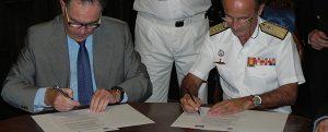 AINE y la Fundación Museo Naval firman un convenio de colaboración
