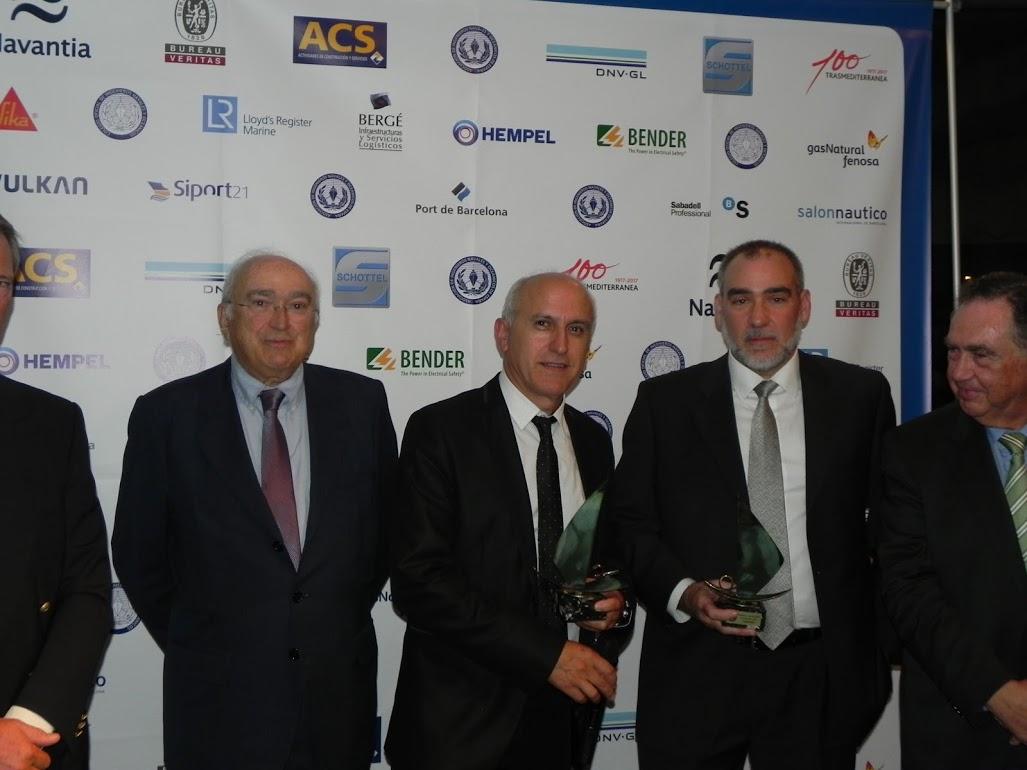 Entrega Premio 55º Congreso al buque más destacado, Hondarra