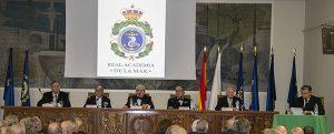 Alejandro Aznar Sainz, nuevo presidente de la Real Academia de la Mar