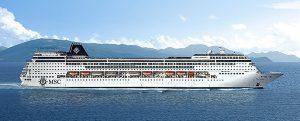 MSC introduce un segundo barco con puerto base en La Habana