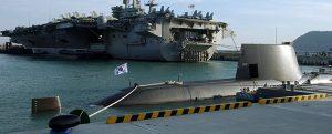 Últimas unidades de la Armada surcoreana