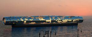 Desalinizadora solar flotante