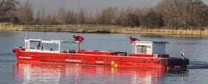 Jan var der Heyde IV: nuevo buque del departamento de bomberos de Ámsterdam