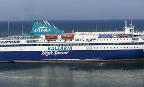 El ferry Nissos Chios de Baleària une Melilla con la península