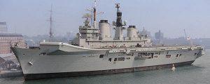 HMS Illustrious, 32 años al servicio de su majestad