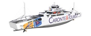 LMG Marin diseñará el primer ferry LNG del mar Mediterráneo