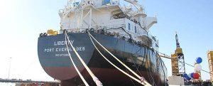 Liberty: tercer petrolero de la clase ECO