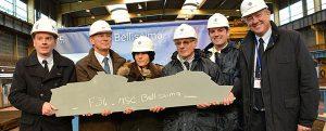 Empieza la construcción del MSC Bellissima