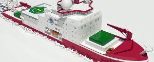 Comienza la construcción del nuevo buque de investigación para China