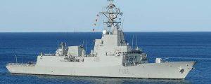 La Armada Española zarpa rumbo a Australia