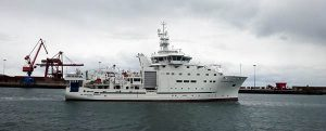 Gondán entrega el buque oceanográfico Dr. Fridtjof Nansen