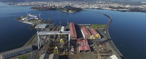 Navantia construirá 4 jackets para el parque eólico experimental Nissum Bredning