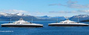 Dos nuevos ferries propulsados por gas