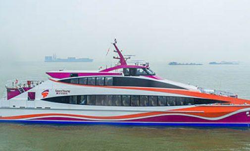 Así son los ferries chinos