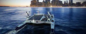 El primer barco de hidrógeno recorrerá el mundo