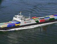 Ferry híbrido Seaspan Swift