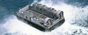 Dos hovercrafts para Corea del Sur