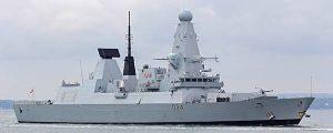 Serios problemas para los buques de guerra británicos