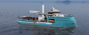 Nuevo buque para la construcción de parques eólicos de Ulstein para Acta Marine B.V.