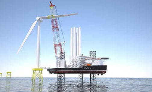 Nuevo diseño de buque jackup heavy lift