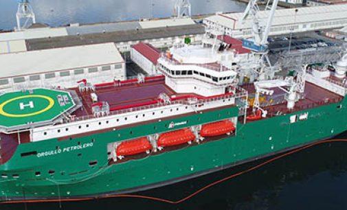 Navantia entrega el flotel Orgullo Petrolero a Petróleos Mexicanos