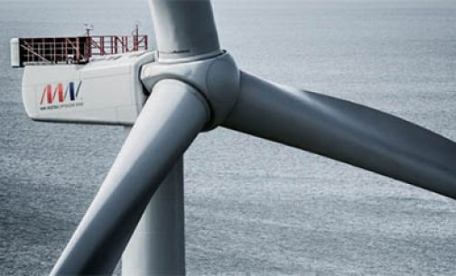 Récord de potencia del nuevo aerogenerador de Vestas