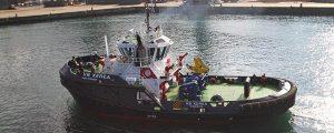 Pruebas de mar del remolcador VB Xerea