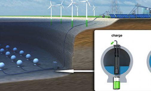 Parque energético submarino para la red de renovables