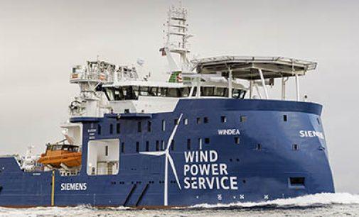 Buque de servicio a parques eólicos offshore Windea Leibniz