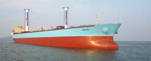 Apuesta real por la propulsión eólica de buques
