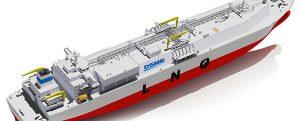 Nuevo diseño de buque LNG desarrollado por DSME y DNV GL