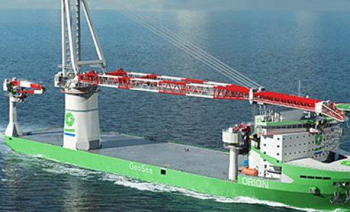 OCV Orion, buque de instalación de nueva generación