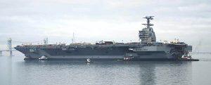 USS Gerald R Ford: el anhelado portaaviones de la US Navy
