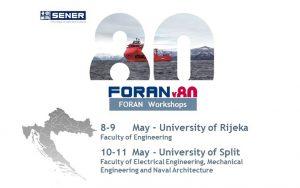 SENER firma un acuerdo con las Universidades de Rijeka y Split (Croacia) para el uso de FORAN con fines académicos.