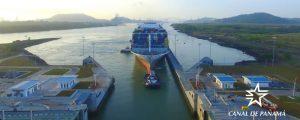 El portacontenedores OOCL France registra un nuevo récord de capacidad en el Canal de Panamá