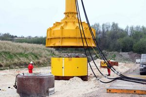 Innogy está avanzando en el proyecto de investigación que lleva a cabo junto a E.ON, Iberdrola y Carbon Trust, para desarrollar el sistema de cimentación por vibración de los pilotes de aerogeneradores offshore.