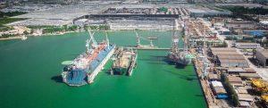 Tailandia ya tiene el mayor dique flotante de su historia