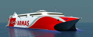 Incat construirá un nuevo ferry para Armas