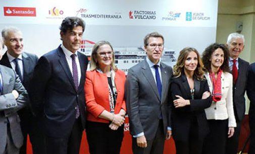 Presentación del nuevo ferry de Trasmediterránea