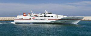 Trasmediterránea comienza hoy la conexión de verano Gandia-Ibiza de alta velocidad