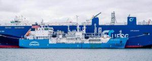 El mayor buque de suministro de GNL comienza a prestar servicio