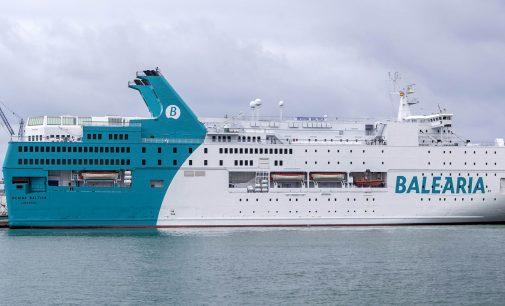 El ferry Regina Baltica ya presta servicio entre Valencia y Argelia