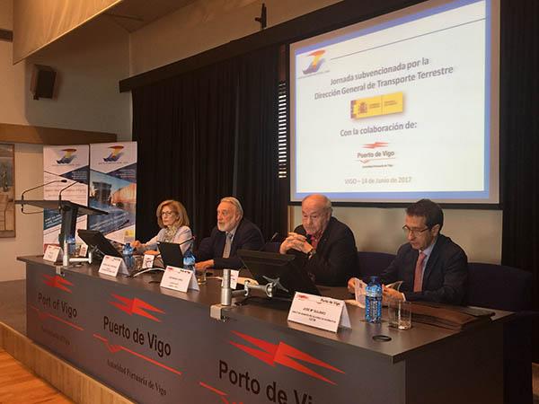 transporte marítimo a corta distancia en Vigo