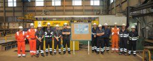 Navantia inicia la construcción del primer AOR para la Marina Australiana