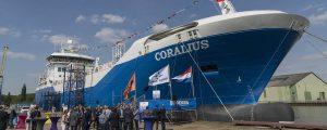 Coralius: primer buque de suministro de GNL construido en Europa