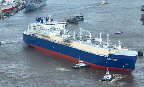 Bautizado el mayor LNG del mundo