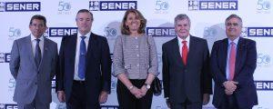 SENER celebra en Madrid su 50 aniversario en Espacio