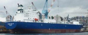 Trammo Dietlin, primer buque con la notación de clase Cyber SAFE